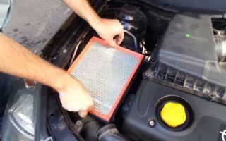 Как заменить воздушный фильтр в автомобиле opel astra h: фото и видео