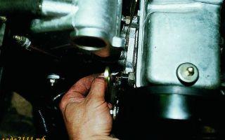 Где находится датчик давления и уровня масла ваз 2110 8 и 16 клапанов: описание и замена