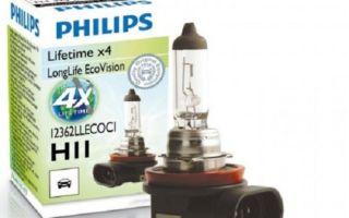 Рейтинг галогенных, ксеноновых и светодиодных ламп h11 в противотуманки