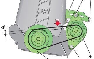 Как натянуть ремень генератора: схема натяжки, как правильно подтянуть и проверить натяжение