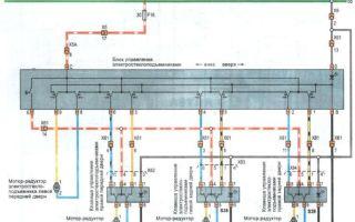 Блок управления стеклоподъемниками на daewoo (matiz и nexia), схема подключения, ремонт и замена