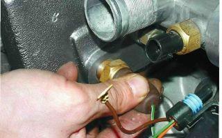 Устройство, назначение, неисправности и замена датчика температуры ваз 2110