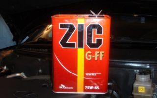 Все о трансмиссионном масле zic 75w-85: характеристики и особенности