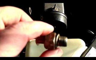 Замена датчика давления масла lada kalina: где находится и почему горит лампочка ддм?