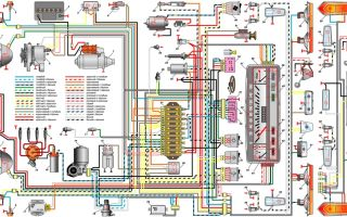 Электросхема ваз 2101: поиск неисправностей и замена электрооборудования