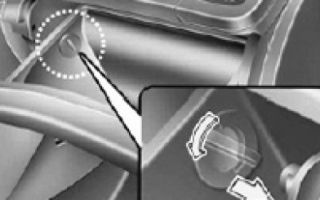 Снятие и замена салонного фильтра hyundai solaris