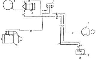 Описание системы и схема зажигания зил 130, диагностика сз и установка по схеме