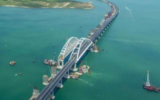 Когда открытие крымского моста через керченский пролив в 2018 году для легковых и грузовых автомобилей и когда откроют железнодорожное движение для поездов