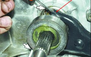 Замена выжимного подшипника сцепления на ваз 2107: инструкции и фото