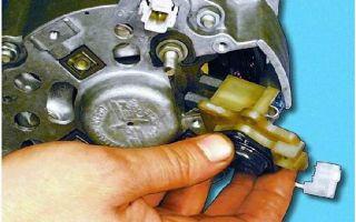 Проверка, разборка, ремонт и схема подключения генератора ваз: как проверить щетки, замена ремня