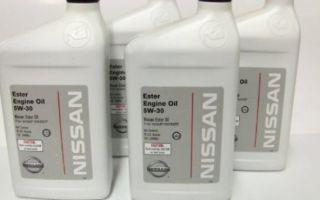 Обзор моторного масла марки nissan 5w-30: особенности, фото и видео
