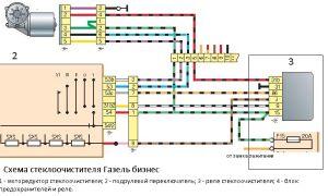 Схема стеклоочистителя (включая бачок омывателя) газель: почему не работают дворники, трапеция