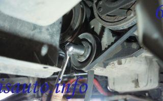 Как поменять или подтянуть ремень кондиционера на lanos: инструкции с фото