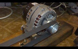 Самодельный генератор из стартера своими руками: какой диод поставить, инструкция и видео