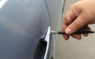 Как просто открыть свой автомобиль без ключей: пошаговая инструкция