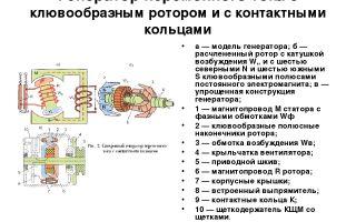 Как проверить и разобрать ротор генератора, система и способы возбуждения устройства