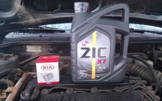 Меняем масло в двигателе автомобиля kia spectra: пошаговая инструкция и фото