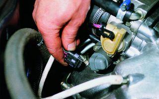 Замена датчика холостого и заднего хода ваз 2109 инжектор и карбюратор: фото, где находится