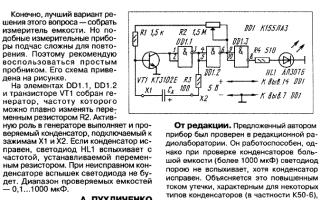 Подробная инструкция по проверке конденсатора в домашних условиях