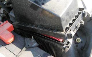 Замена воздушного фильтра nissan almera classic