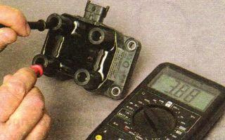 Как проверить катушку и модуль зажигания lada kalina 8 и 16 клапанов своими руками?