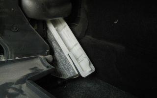 Замена салонного фильтра на автомобиле nissan note: пошаговая инструкция