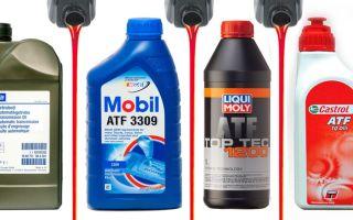 Как правильно подобрать масло для акпп по марке авто: советы и фото