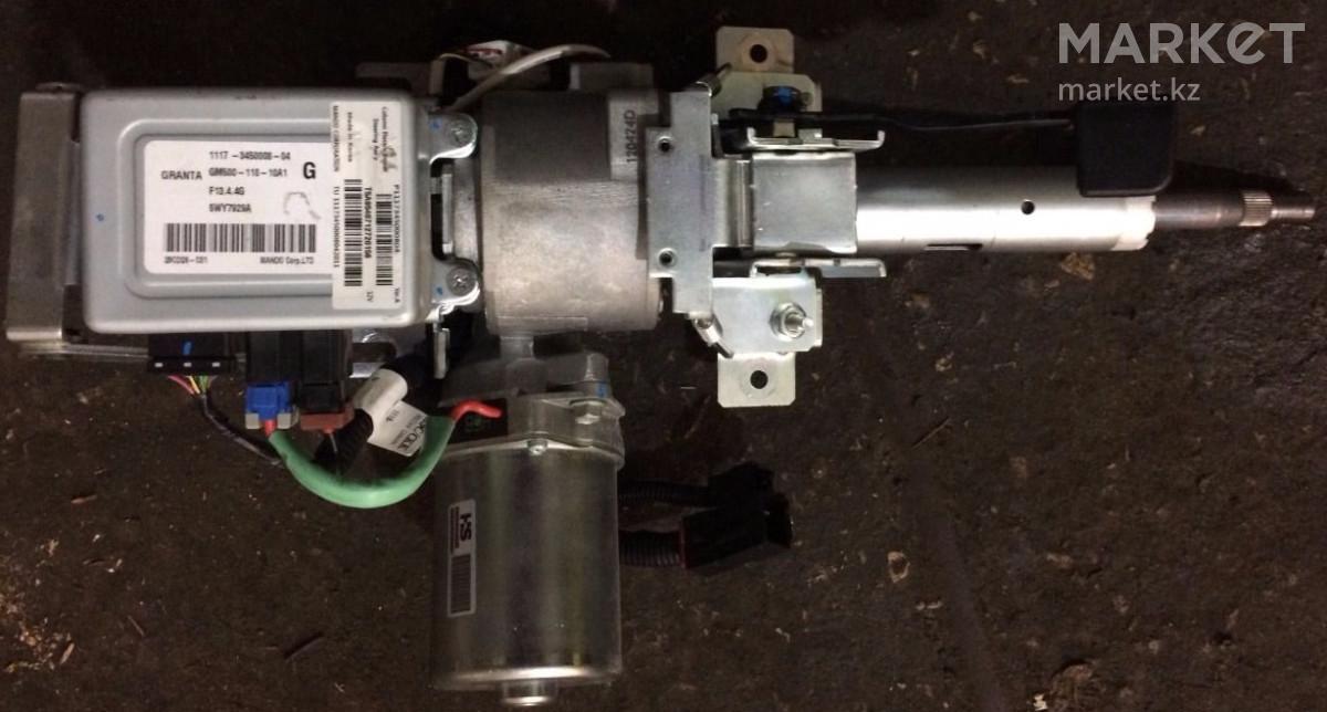 Установка электроусилителя руля (эур) на lada granta в базовой комплектации «стандарт» || Лада гранта установка электроусилителя руля