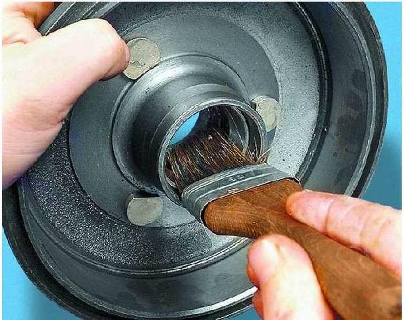 Предназначение смазки инструкция как смазать подшипник ступицы колеса своими руками