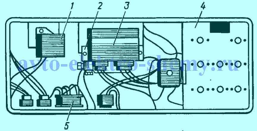 схема проводки камаз 5320 по цветам