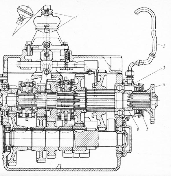 Зил 130 схема переключения передач