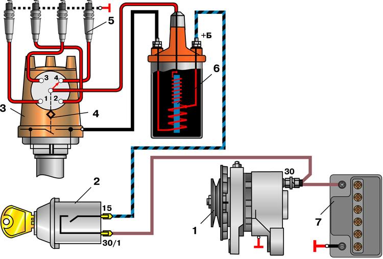 Как выставить зажигание на ваз 2101: установка по меткам с фото и схема подключения проводов по цветам, видео, как установить и настроить замок своими руками
