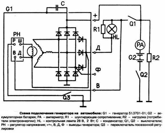 Принцип работы генератора автомобиля: что это такое и для чего он нужен в машине, какой ток выдает: переменный или постоянный, и видео о том, как работает устройство