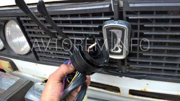 Как снять и заменить замок зажигания на ВАЗ 2107