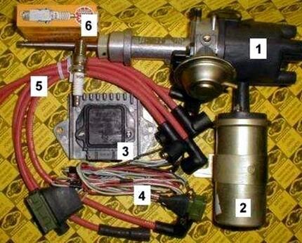 Руководство как выставить и настроить зажигание на ВАЗ 2105 своими руками схема