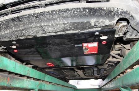 Самостоятельная установка защиты картера на автомобиль lada granta